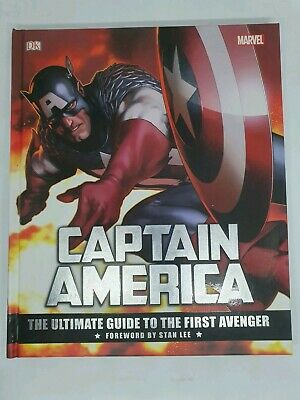 Captain America: The Ultimate Guide to the First Avenger HARDBACK