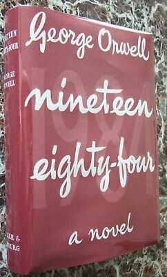 1951~ Nineteen Eighty-Four, by George Orwell, First UK Edition ~ 1984