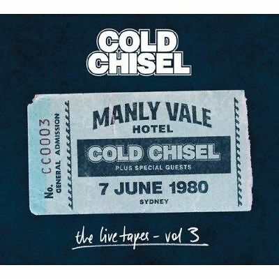 Cold Chisel (The Live Tapes Vol3 - Manly Vale Hotel 2Cd Set Sealed+ Free Post)