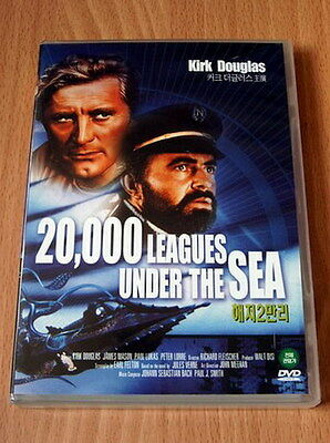 20000 Leagues Under the Sea - Kirk Douglas - NEW DVD