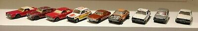 JOB LOT OF 9 x MATCHBOX SUPERFAST DIE CAST CARS FROM THE 1970s