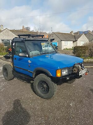 Landrover Discovery 1 200tdi road legal trayback not 90