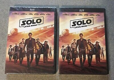 Solo A Star Wars Story DVD New/Sealed  A Set Of Two!