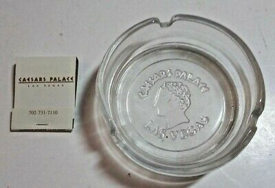 Caesars Palace Hotel Casino Las Vegas Ashtray And Matchbook + Bonus