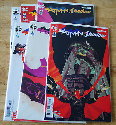 Batman The Shadow (2017 DC) #1 to #6, Scott Snyder-issue #6 is the Jock Variant!