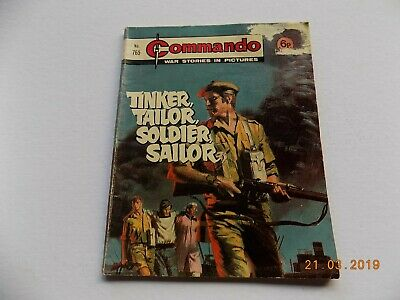 Commando Comic - 765 - Tinker Tailor Soldier Sailor  - 1973