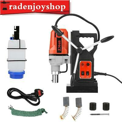 1100W Industrial Magnetic Drill Press 220V 12000N Mag Force Industrial Tapping