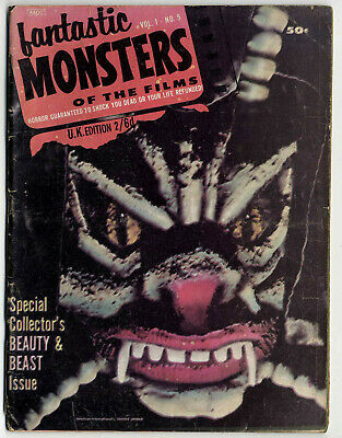 Fantastic Monsters #5 (USA 1963, 68 pages) Ghost of Frankenstein, Spy Smasher