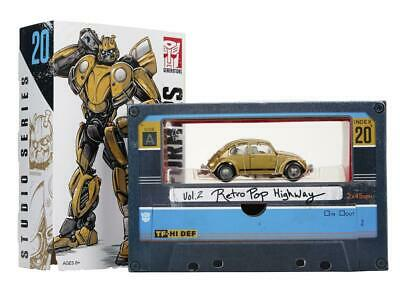 Transformers SDCC 100/% Studio Series Gold VW Beetle Super Bumblebee New Loose