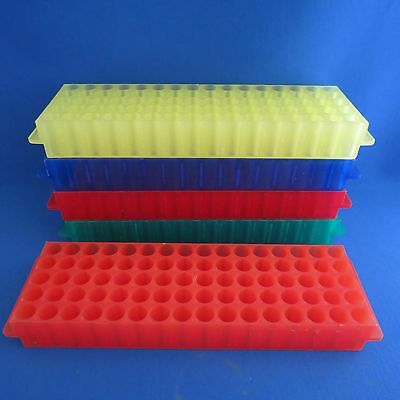 Qty 5 VWR 80 Place Fraction Collector Racks  #3128-282