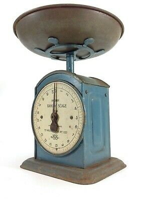 Genuine Vintage Salter Kitchen Scales Hughes Family Scale
