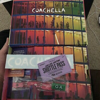 ***COACHELLA 2019 Weekend 2***~(2) GA Wristbands with (1) Shuttle Passes
