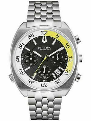 Bulova Accutron II Snorkle Chronograph Stainless Steel 200M Diver Watch 666