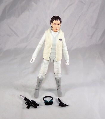 "Star Wars Black Series 6"" Inch Hoth Princess Leia Loose Figure COMPLETE MINT"