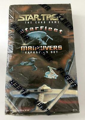 Star Trek THE CARD GAME Starfleet Maneuvers Expansion Set 1996 Skybox Sealed Box