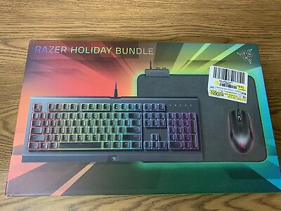 f184725f61b Razer Holiday Gaming Bundle 2018 Cynosa Chroma, Abyssus and Goliathus