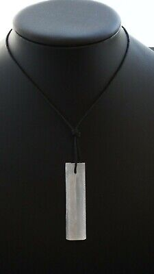 Selenite Natural Crystal Gemstone Necklace Protection Crown Chakra Good Luck
