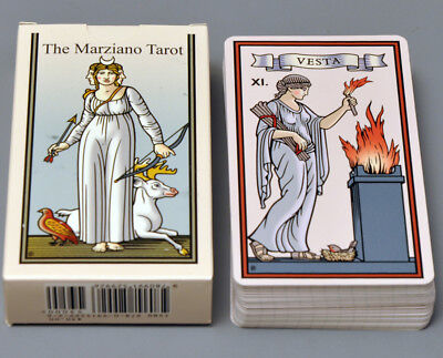 MARZIANO TAROT - Oldest Proto-Tarot Card Deck - Reconstructed By Robert M   Place
