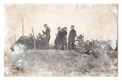 Saumur FRENCH Cavalry SCHOOL HORSE INFANTRY SOLDIERS WAR WW1 OLD PHOTO POSTCARD