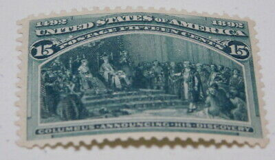 US Stamps Scott #238 Columbian Expositiom 15 Cents
