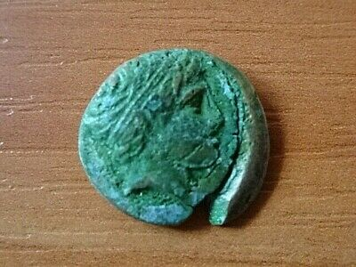 "Philip II Macedon 359-336 BC AE18 ""Apollo & Horseman"" Ancient Greek Coin"