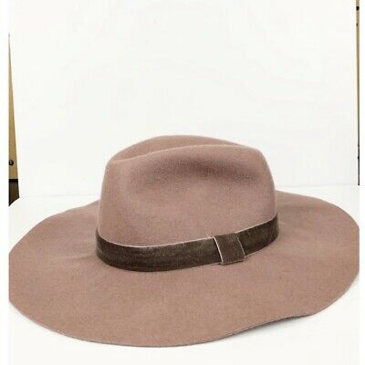 df5e62e38d034 ANN TAYLOR LOFT Brown Winter Bucket Hat Wool Lining -  12.99