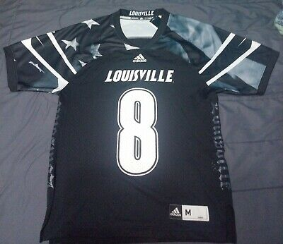1b97ca2385a Adidas Louisville Lamar Jackson Young Patriots Commemorative Football Jersey