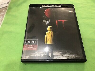 IT 2018 Blu-Ray Only No 4K Ultra HD No Digital HD Code Either