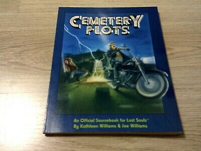 Lost Souls RPG Cementery Plots Sourcebook 1994 SC Marquee Press EX