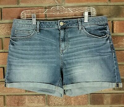Shorts Clothing, Shoes & Accessories Delia's Junior Size 00 Denim Blue Shorts Cuffed Rolled Up