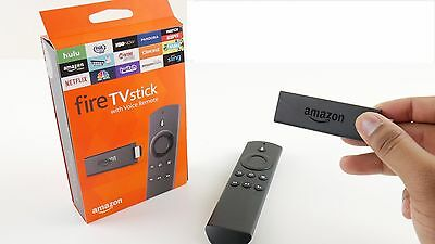 NIB Amazon Fire TV Stick Streaming Device with ALEXA Voice Remote - 2nd Gen