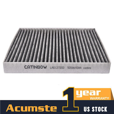 QUALITY CABIN AIR FILTER For 2007-2017 JEEP COMPASS /& PATRIOT CARBON 5058693AA