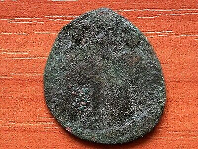 Constantine X and Eudocia 1059-1067 AD AE Follis Ancient Byzantine Medieval Coin