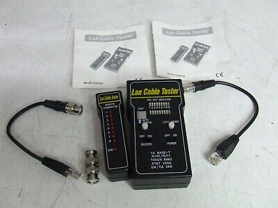 LAN-test 256566 LAN Cable Tester *Tested & Working*