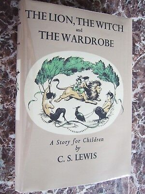 The Lion, the Witch & the Wardrobe~1956  C.S.Lewis, First UK Edition; 3rd Print