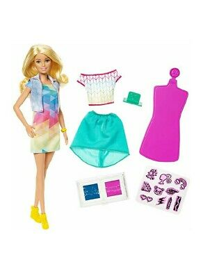 Barbie Crayola Color Stamp Fashion Doll
