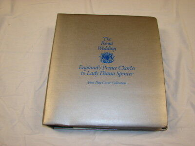 Vintage 1981 The Royal Wedding Prince Charles Lady Diana Stamps First Day Cover