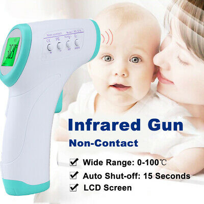 Infrared Forehead Thermometer Baby Digital IR Non-contact Body Temperature Meter