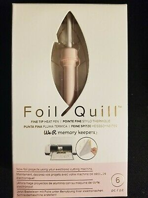 Brand New We R Memory Keepers Foil Quill Fine Tip Heat Pen