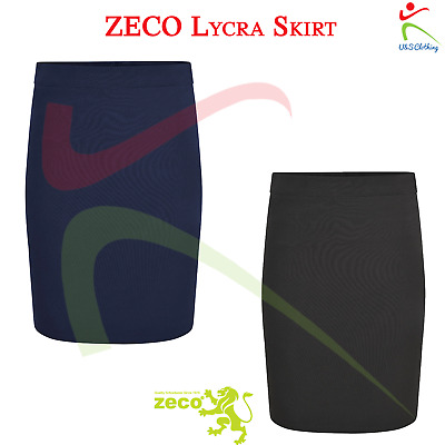 ZECO New Girls Lycra Skirt Ladies Polyester School Uniform Adults Office Wear