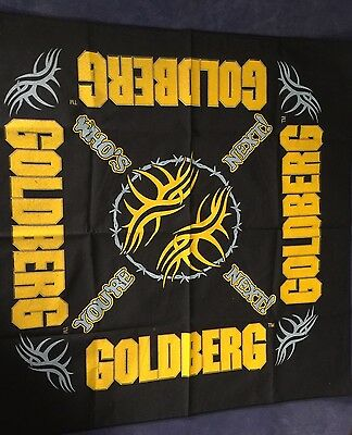 Bill Goldberg Wrestling Bandana Handkerchief WCW WWE