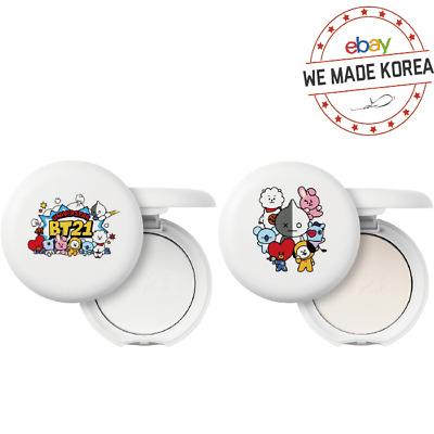 BTS BT21 X VT COSMETIC Art In Pore Pact & Blur Pact Official K-pop Authentic MD