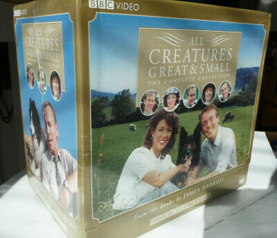 Nib All Creatures Great & Small 2007 Complete 28-Disc Set Series 1-7 + Specials