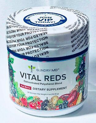 Gundry MD Vital Reds Concentrated Polyphenol Blend Dietary Supplement 4 oz (1...