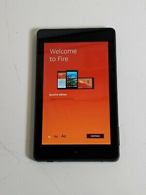 AMAZON KINDLE FIRE Tablet HD 6 PW98VM Factory Reset
