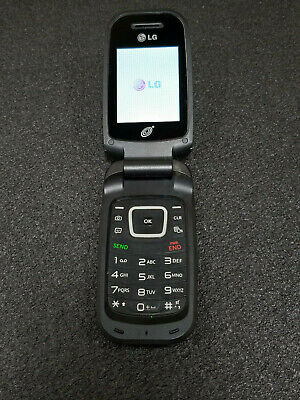WORKING TRACFONE LG 440G Good Condition Flip Phone, No SIM, Wiped