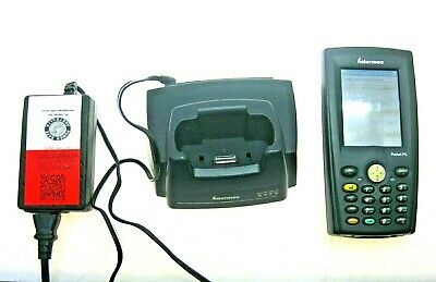 Intermec Pocket PC 730 Handheld Barcode Scanner with 700C Modem Dock + PSU