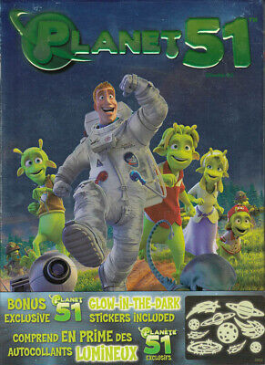 Planet 51 (With The Glow-In-The-Dark Stickers) (Bilingual) (Dvd)