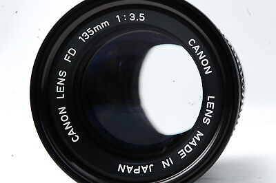 Canon NEW FD 135mm F3.5 Lens  SN162525
