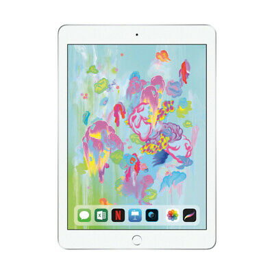 "NUEVO Apple iPad 9.7"" 32GB Wi-Fi Version - Silver (2018 Version)"